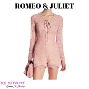 ROMEO & JULIET COUTURE ROMPER  NWT